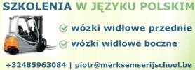Szkolenia na wózki widłowe po polsku